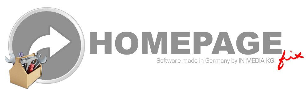 HomepageFix Software Programm Funktionen